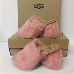 UGG Fluff Momma/ Rosa heels